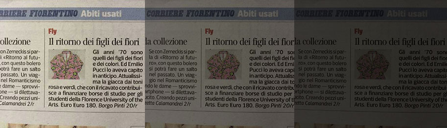 fly 3 cited by italian press